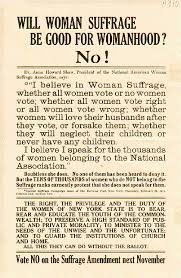 Quotes Against Women's Suffrage