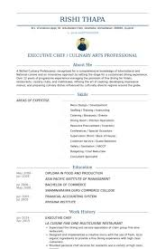 Chef Resume Examples Custom Chef Resume Samples Example Complete Accordingly Executive Chef With