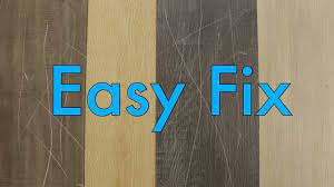 how to fix scratches in vinyl plank