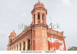 famous ancient architecture. Abandoned Ancient Architecture Seen At A Famous Landmark Central Railway Station,Chennai,India -