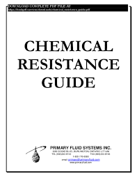 Pdf Chemical Resistance Guide Pdf_2212978 Pdf Book P D F