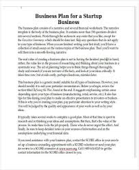 personal plan template personal business plan templates 6 free word pdf format download