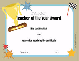 Best Teacher Award Template Brilliant Ideas For Best Teacher Award Certificate Template With