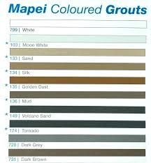 Grout Colors Chart Sanded Grout Colors Gracetoday Co