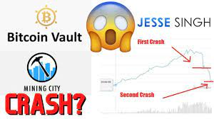 Mining city, dünyada kazakistan hükümeti tarafından desteklenen ilk projedir. Bitcoin Vault Crashes Hard Again What Is Happening To Mining City Youtube