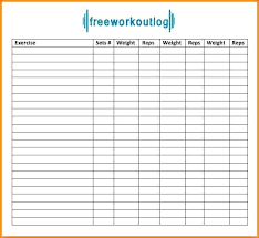 work out sheet for the gym gym workout sheet printable weight training log sheet