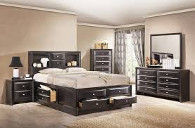 Bedroom: Stained Full Size Bedroom Sets Including Sleigh Bed - Full ...