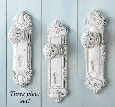 Antique door knob Handles Collections Etc Antique Door Knob Wall Hooks Set Of From Collections Etc