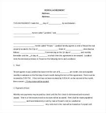 Template Rental Lease Agreement – Cashinghotniches.info