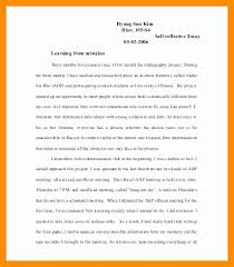 Reflective Essay Format Inspiration Reflective Essay Apa Format Example Poemsviewco
