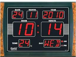digital office wall clocks digital. Digital Wall Clocks Bathroom Clock Alarm Atomic . Office I