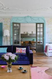 Living Room with Beautiful Millwork and Many Colors
