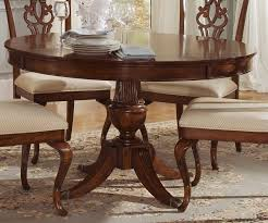 eye catching round cherry dining table at stylish design luxury idea wood