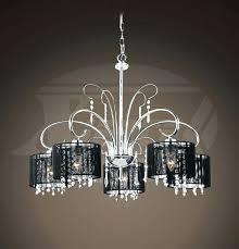 fabric chandelier