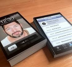 Who Wants Iphone Business Cards Cult Of Mac
