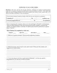Quick Trip Job Reviews 46 Employee Evaluation Forms Performance Review Examples