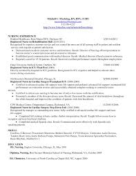 Registered Nurse Resume Sample Format Free Resumes Tips