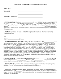 Annual Rental Agreement Form California – Elsik Blue Cetane