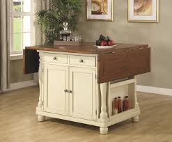 Small Kitchen Carts. White Kitchen With Dark Portable Kitchen ...