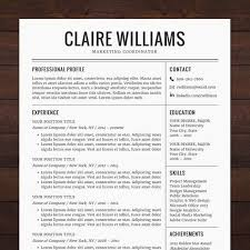 Creative Resume Templates For Mac Unique Resume Cv Template Free Cover Letter Instant Download Mac Or Pc