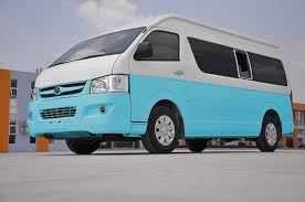 Toyota #Hiace in white& sky blue color... - Toyota Hiace Engines For ...
