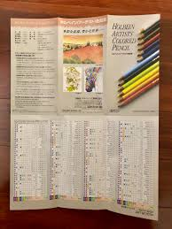 Review Holbein Artists Pastel Pencils Live Eat Colour