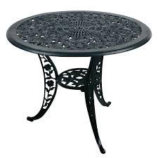 rose design aluminum round table neo