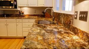 gold granite kitchen countertops