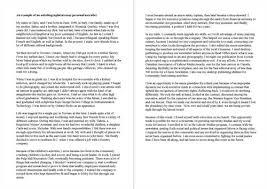 how to write a memoir essay examples mla essay example  example