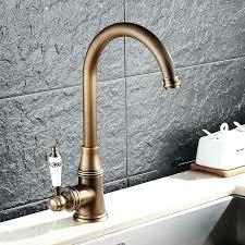 loose sink faucet handle kitchen sink faucet single handle kc retro antique brass kitchen sink faucet single handle rotation spout how to fix a loose