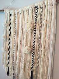 diy yarn wall hanging  on wall art tapestry hangings with diy yarn wall hanging my creations pinterest yarn wall