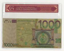 Die hersteller von geldautomaten oder kassentresoren konnten die neuen banknoten bundesbankvorstand beermann zufolge dagegen schon seit neun monaten zu testzwecken ausleihen. 1000 Euro Schein Gunstig Kaufen Ebay