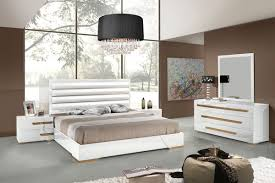 contemporary bedroom furniture white. Bedroom:Charming Modern Italian Bedroom Furniture With White Headboard And Drum Shape Crystal Pendant Lamp Contemporary O