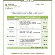 How To Start A Lawn Care Or Landscaping Business Mowing Plan Tem