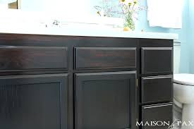 can you stain kitchen cabinets how to use gel stain maintain wood grain and update a can you stain kitchen cabinets