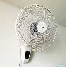 「壁掛け扇風機」の画像検索結果