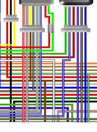 kawasaki z750 kz750 colour motorcycle wiring loom diagrams kawasaki kz750 e2 usa spec colour wiring diagram