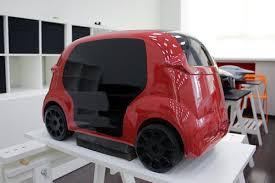 Какими видят автомобили будущего российские студенты Обзор  Электрическое купе audi проект Никиты Севернюка