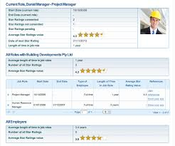 Employee Profile Sample Employee Profile Example Employees Workhistory The Worlds First