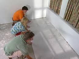 installing a vapor barrier for laminate flooring