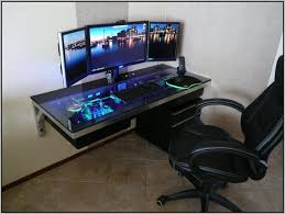 computer gaming desk.  Computer Best Gaming Desks 2015 U2013 Desk  Home Furniture Design With Regard To Most  Current Computer S