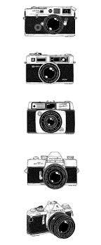 Vintage Cameras On Behance Cam Camera Tattoos Camera Art