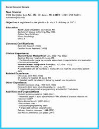 Nursing Resume Templates New Resume Format For Nurse Awesome Free Nursing Template And