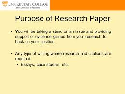 writing a research paper ppt video online purpose of research paper