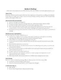 Babysitting Work Experience Resume No Resume Jobs Sample Resume