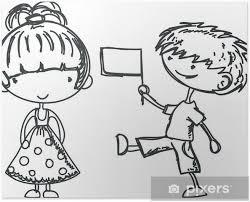 Poster Bambini Disegni Cartoni Animati Stella Pixers Viviamo