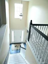 painted basement stairs. Perfect Painted Ideas For Painting Basement Stairs Painted Best Paint  Stair Railing White On With Painted Basement Stairs