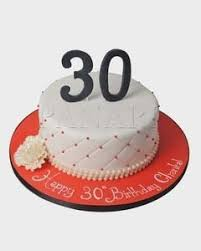 30th Birthday Cake Designs For Her Birthdaycakeformancf