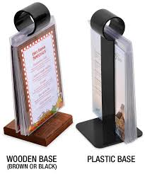 Restaurant Table Top Display Stands Menu Stands Restaurant Table Tents Table Stands and Card 71
