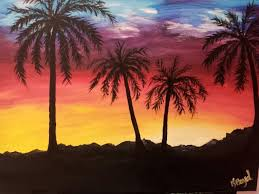 a fun night at wine and canvas las vegas painting with tails